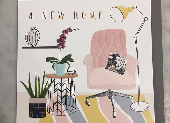 New Home Lounge Card