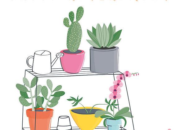 Retire Succulents Card