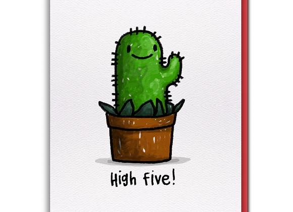 Cactus Buddy Card