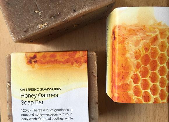 Honey Oatmeal Soap Bar