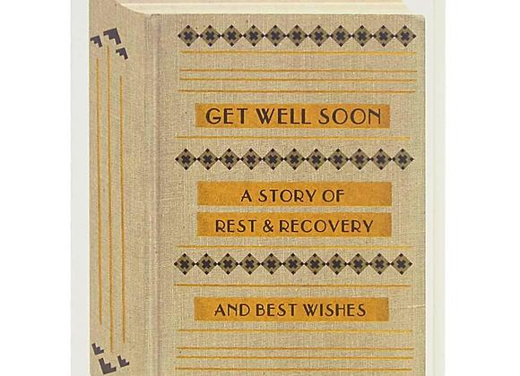 Get Well Book Card