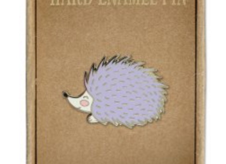 @305 Enamel Pin Hedgehog
