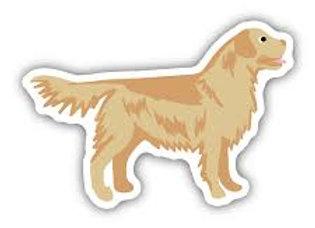 Golden Retriever Dog Sticker