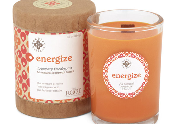 Energize: Seeking Balance Candle