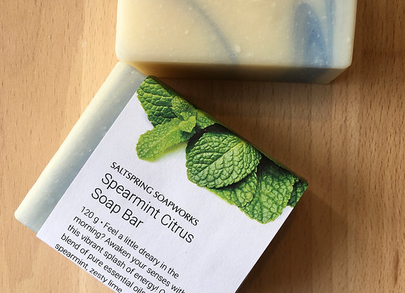 Spearmint Citrus Soap Bar