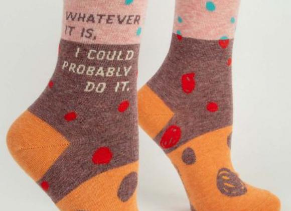 Whatever It Is Crew Socks