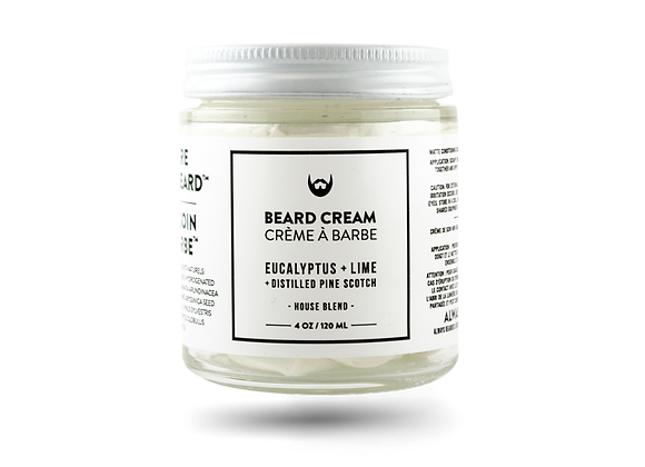 Beard Cream Eucalyptus, Lime With Distilled Pin Scotch Needle