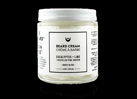 Beard Cream Eucalyptus, Lime With Distilled Pin Scotch Needle