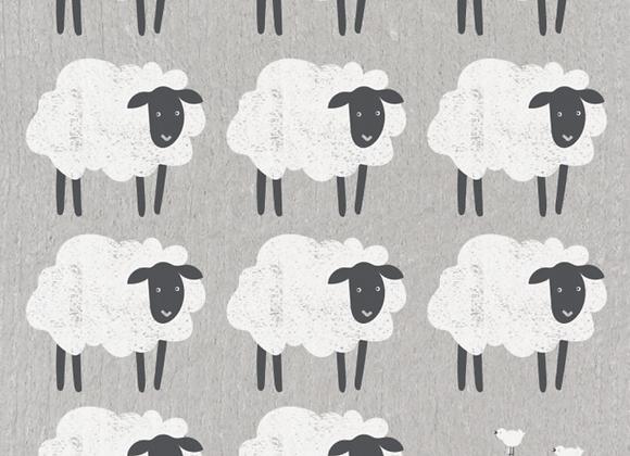 Counting Sheep Ecologie Swedish Sponge Cloth