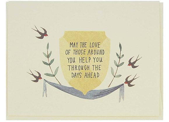 May The Love Sympathy Card