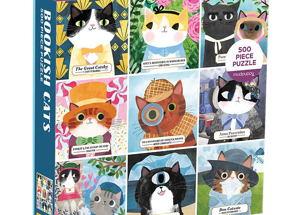 Bookish Cats - 500 pc puzzle