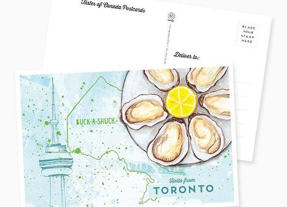Hello From Toronto Postcard