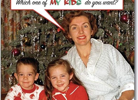Homemade Gifts Christmas Card