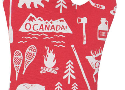 O Canada Over Mitts Set of 2