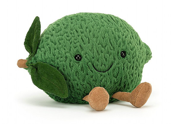 Amuseable Lime Plush Toy