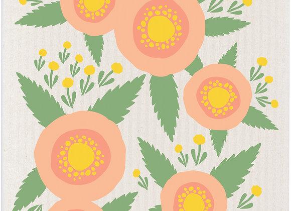 Swedish Dishcloth Rosa