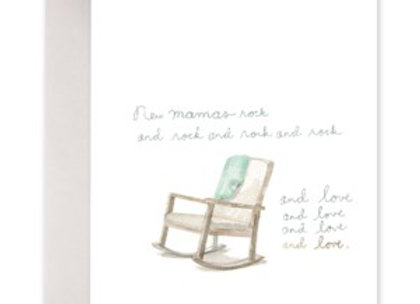 New Mamas Rock Mother's Day Card