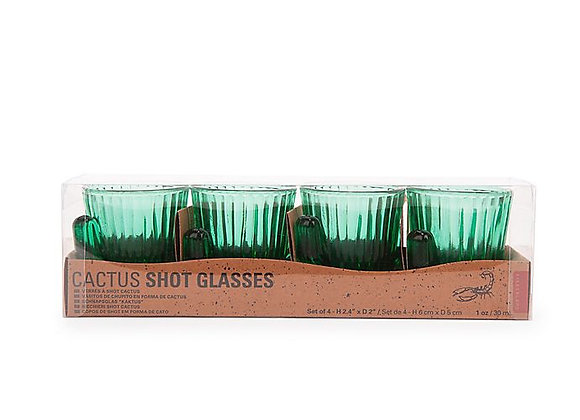 Cactus Shot Glasses Set