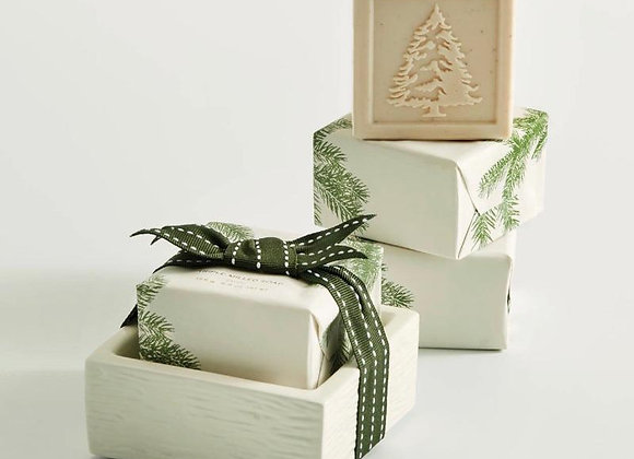 Frasier Fir: Soap & Dish set