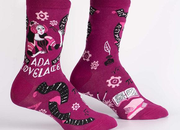 Ada Lovelace Socks