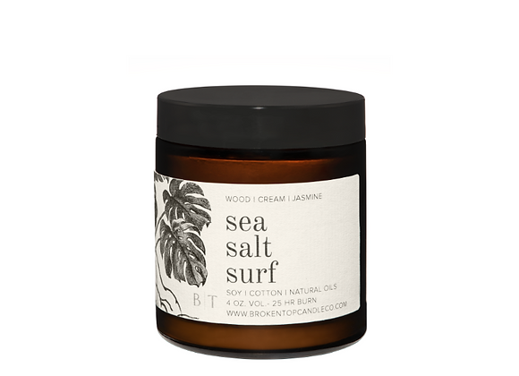 Sea Salt Surf Soy Candle