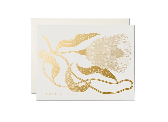 Exotic Flower Card