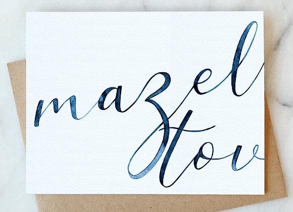 Mazel Tov Card