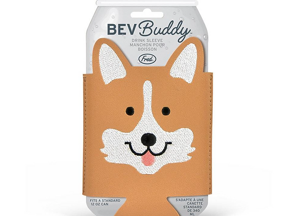 Bev Buddy Drink Sleeves Dogs - Fred