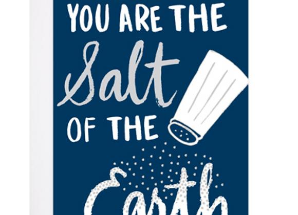 Salt Of The Earth Card