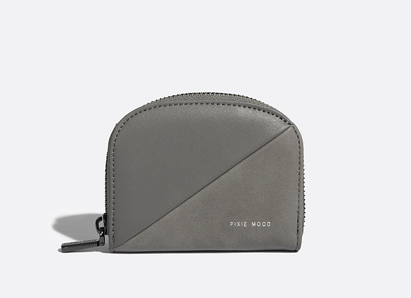 IDA Card Case - Grey Nubuck