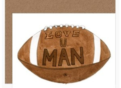 Football Love Card