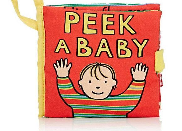 Peek a Baby Fabric Activity Book