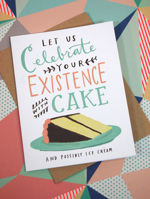 Celebrate with cake birthday card unique gift store toronto celebrate with cake birthday card bookmarktalkfo Gallery