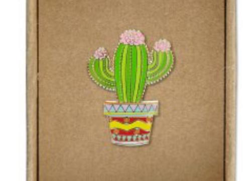 @262 Enamel Pin Cactus
