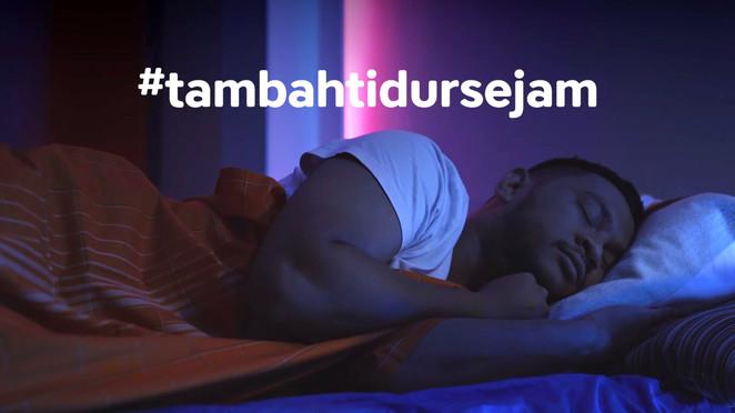 #TambahTidurSejam