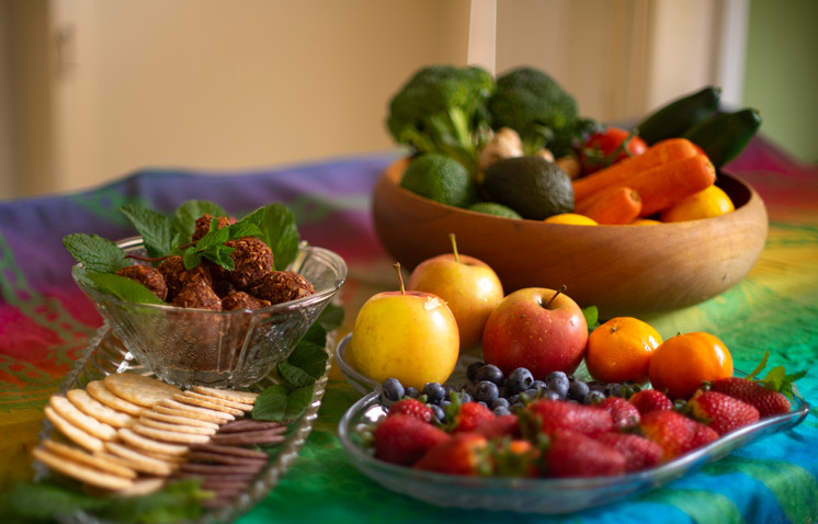 Wholeseome Organic food for workshops and retreats