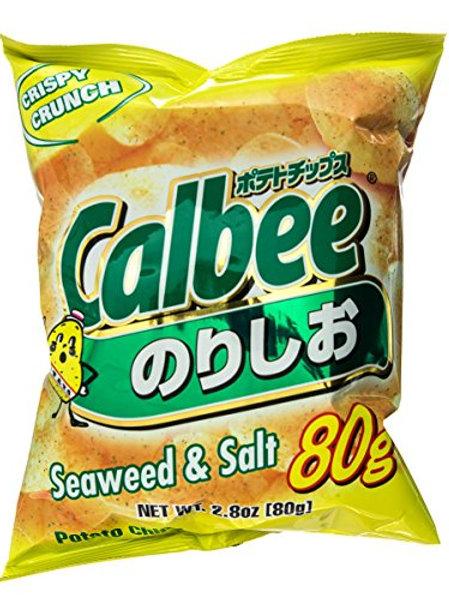 Calbee Seaweed & Salt Chips