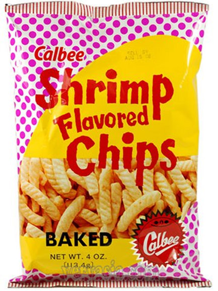 Calbee Shrimp Flavored Chips