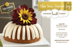 Nothing Bundt - Half Page Wide Ad (1)