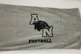 AN Football Beach Towel
