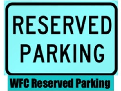 2021  Reserved Parking