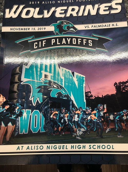 Inside Full Page-Game Day Program