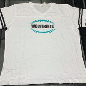 Women's White Wolverine T-Shirt