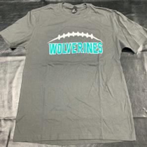 Men's Grey Wolverine T-Shirt