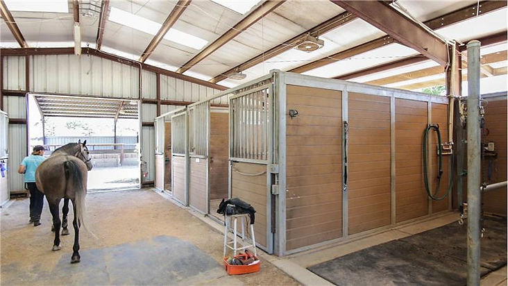 JR Ranch Stables Wash Area