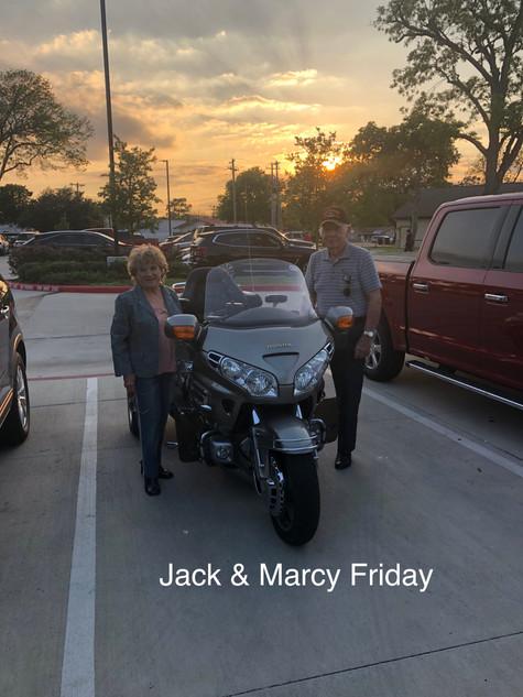 Jack & Marcy Friday