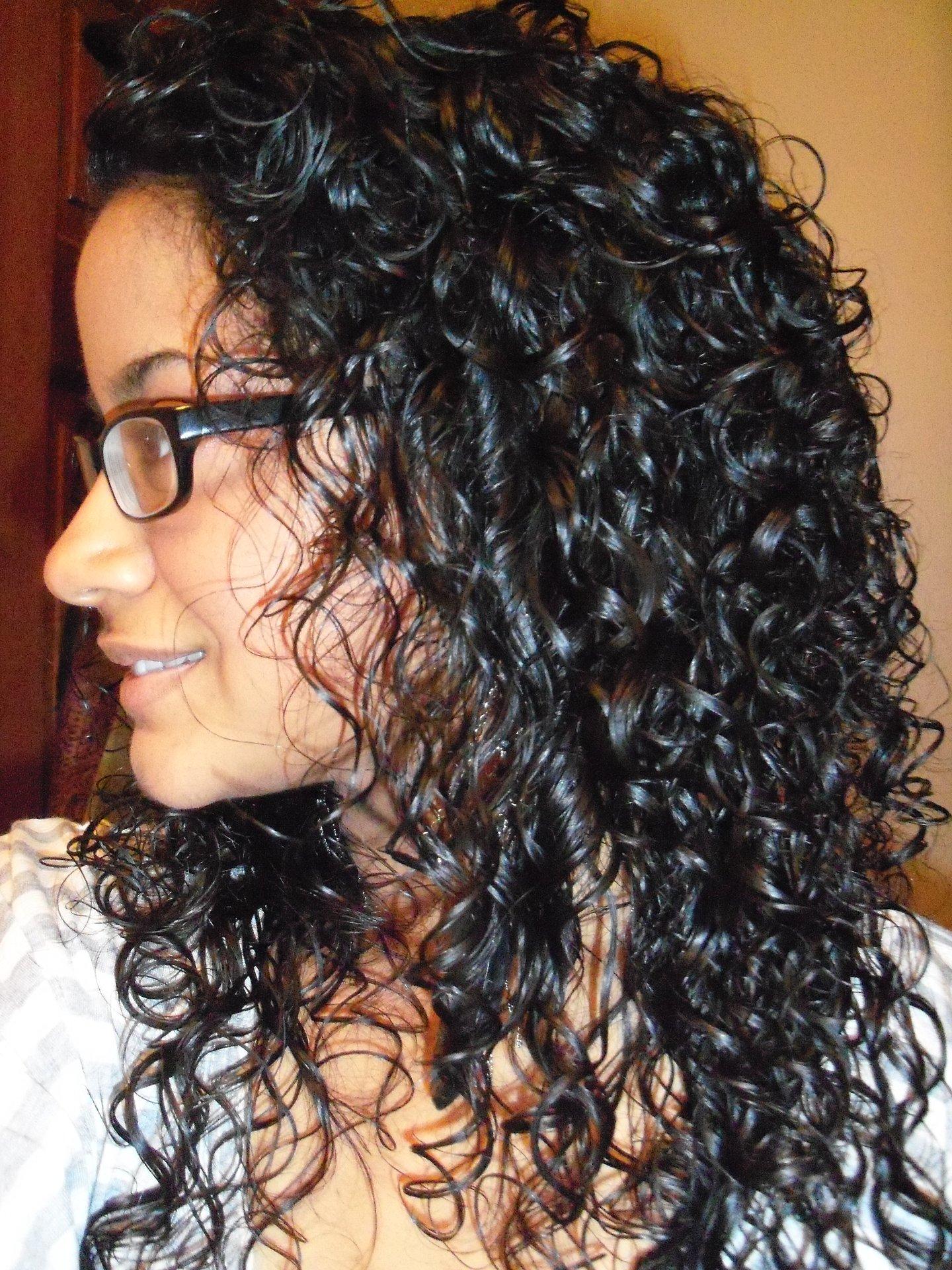 Curly 3A Hair
