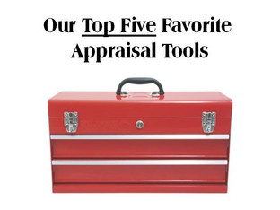 Our Five Favorite Appraisal Tools