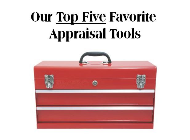 Top Five Appraisal Tools Image