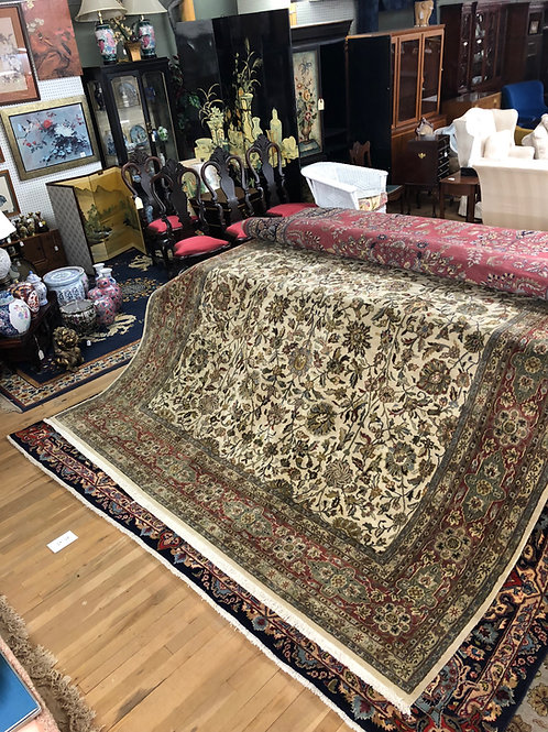 Olive Indo Persian Carpet